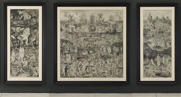 The Garden of Earthly Delights (Drawing)