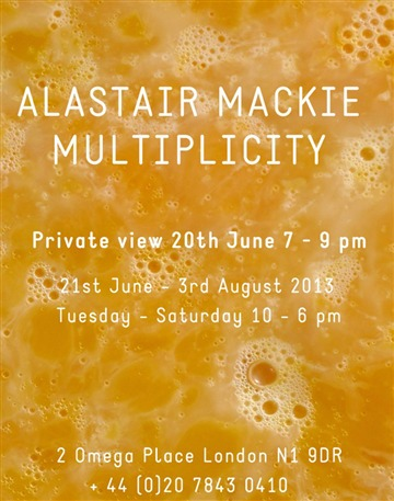 Alastair Mackie  Multiplicity