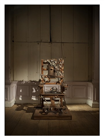 Sedia Elettrica con Farfalle (Electric Chair with Butterflies)