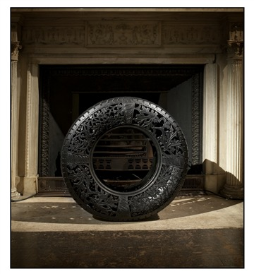 Untitled (Car Tire # 2)