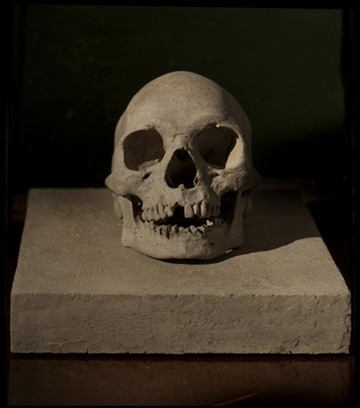 Untitled (Mud Skull)