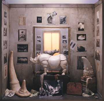 Studio of a Rhinoceros Sculptor