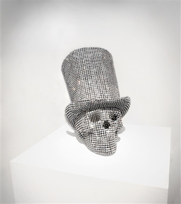 Vanitas Skull with Tube Hat