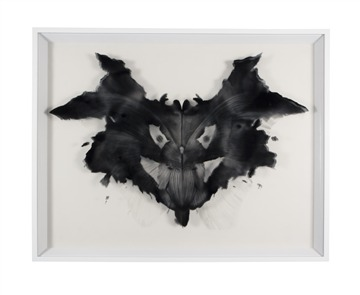 Rorschach Plate 1, Psychopathic Responses